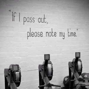 Erg Training @ Oundle Primary School Gym Hall
