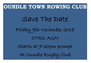 Annual General Meeting @ Oundle Rugby Club